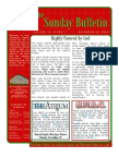 The Sunday Bulletin