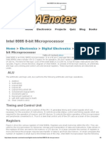 Intel 8085 8-Bit Microprocessor