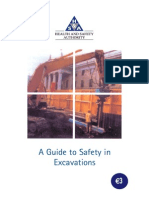 A Guide to Safety in Excavations