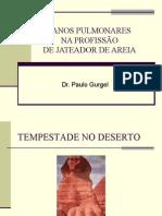 DANOS PULMONARES NA PROFISSÃO DE JATEADOR DE AREIA