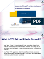 Firewall VPN Appliances for Threat Free Remote Access