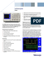 TDS2000C Digital Storage Oscilloscope Datasheet 4 1