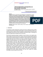 A Systems and Thermodynamics Perspective on Technology in the Circular Economy (RWER, 09.2014)