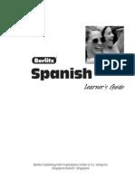 Basic Spanish Guide