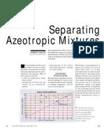 Separating Azeotropic Mixtures