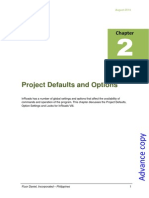 Chapter 2_Project Defaults and Options