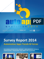Auto Apps 2014_Survey Report