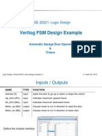 FSM Design Example With Verilog