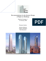 Recommendations for the Seismic Design of Tall Buildings
