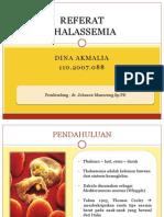 REFERAT Thalasemia Dina
