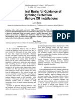 Lightning Protection for Offshore Oil Rigs