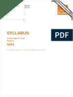 2014 Physics