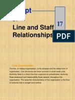 Line & Staff