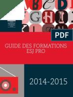 Catalogue Esj Pro 2014-2015