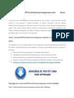 Manuale Linea guida per rimuovere 2014customersurveygroup.com dal infetto sistema