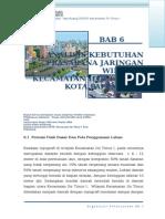 Bab 6 Analisis Kebutuhan Prasarana Dan Sarana Wilayah