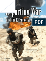Reporting War & the Effect of New Media