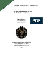 Manajemen Portofolio Dan Evaluasi
