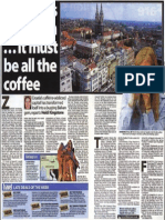 Zagreb is on a High...It Must Be All the Coffee