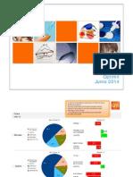 Datos GfK-Optimil Junio 2014