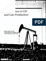 API Vt-1 Introduction to Oil and Gas Production