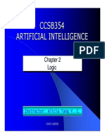 CHP-2-LOGIC(Artificial Intelligence)