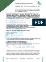 CVL PISA La Solución de Problemas Como Método de Enseñanza de Las Matemáticas