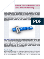 Give A New Direction To Your Business With The Help Of Internet Marketing