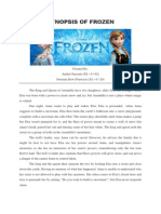 Frozen Synopsis