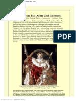Napoleon, His Army and Enemies