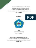 Penerapan Asesmen Kinerja Pada Praktikum Dalam Meningkatkan Aktivitas Dan Hasil Belajar Siswa Pada Pembelajaran Biologi Pokok Bahasan Kelas 8 Smp n 2 Kerek