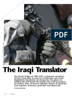 The Iraqi Translator
