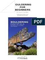 Boulder Ing for Beginners