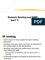 Dynamic Routing and OSPF (Part 1)