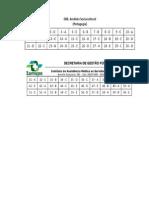 Documentos Pedagogia - 2013