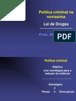 Politica Criminal Nova Lei de Drogas Alice Bianchini