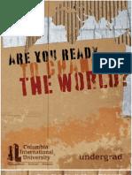 CIU Viewbook Undergraduate 2009-2010