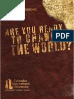 CIU Viewbook Seminary 2009-2010