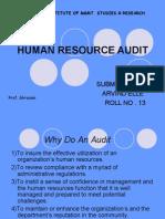 Arvind Hr Audit