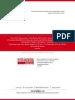 Evolución Microestructural Del Acero Austenítico Al Manganeso Sometido a Tratamiento Térmico de Temp
