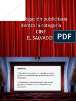 INVESTIGACIÓN CATEGORIA CINE
