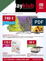 Leták PlayKlub 9/2014