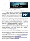 Bulletin de Jumaa Prayer 12 Sept 2014
