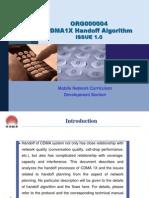 10)CDMA1X Handoff Algorithm