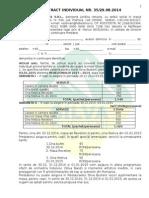 Contract Individual NR 35 REV. 2014 - 2015