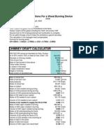 Draft of Chimney Calculation