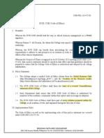 COB POL 1314 T2 01 Code of Ethics 1