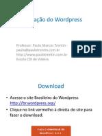 Instalação Do Wordpress