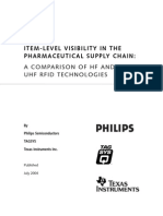Item-level Visibility in the Pharmaceutical Supply Chain