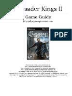 Crusader Kings II Game Guide
